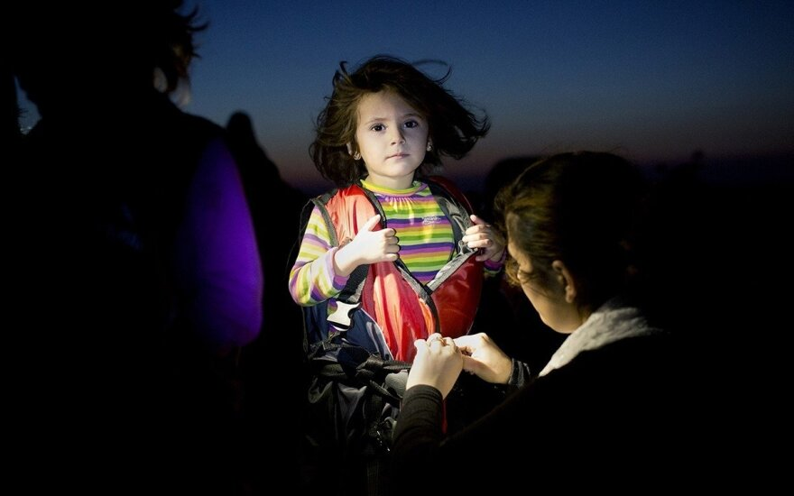 Pabėgėlius fotografavęs graikas: ši nuotrauka sukrėtė daugelį