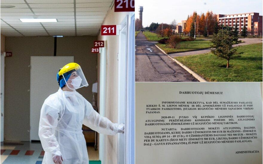 Kupiškio ligoninės medikai baiminasi dėl savo ateities