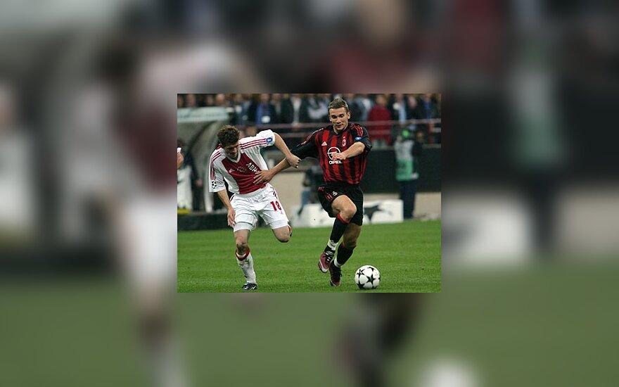 """""""Ajax"""" ir """"AC Milan"""""""