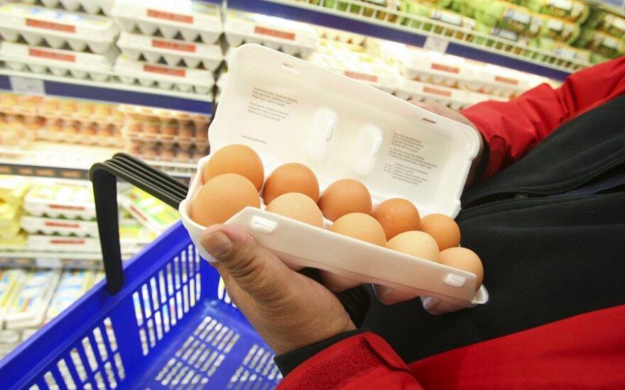 Lietuvos rinkai tiekiami kiaušiniai – saugūs