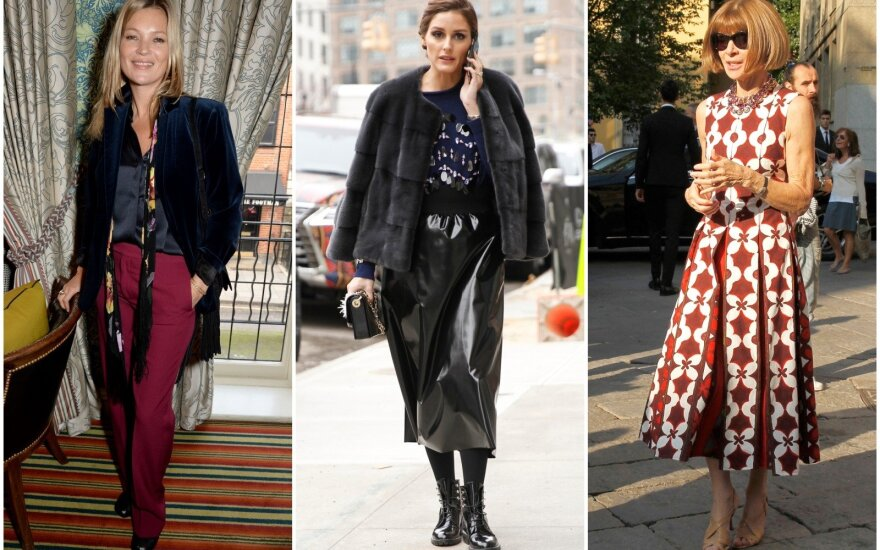 Kate Moss, Olivia Palermo, Anna Wintour