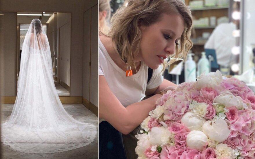 Ksenijos Sobčiak vestuvės