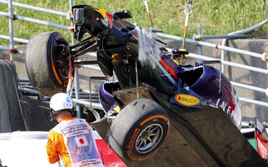 Danielio Ricciardo automobilis