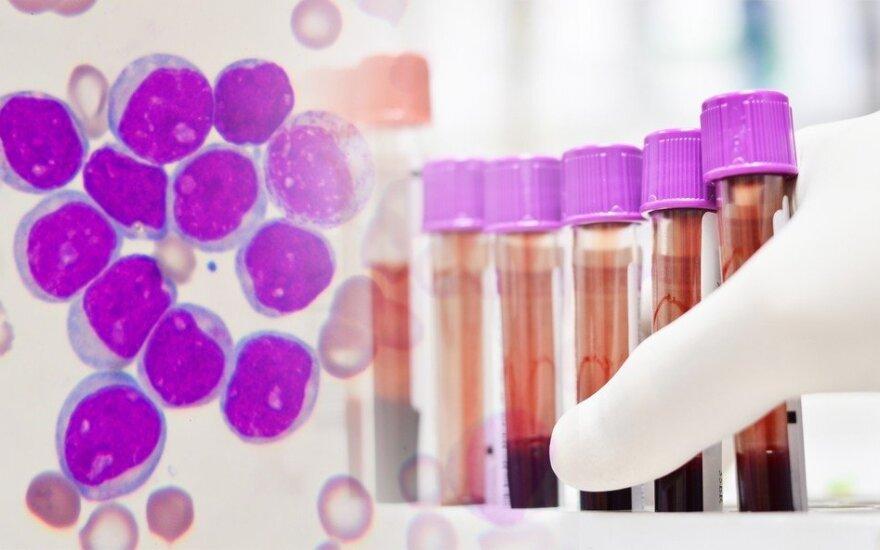 Vėžiu serganti moteris su leukemija ketina susidoroti naudodama savitaigą