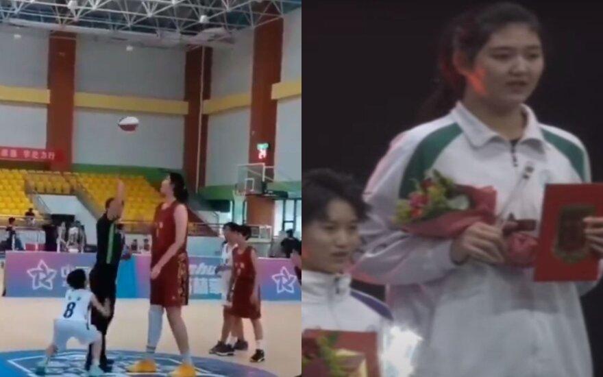 Kinijos krepšininkė Zhang Tzuyu