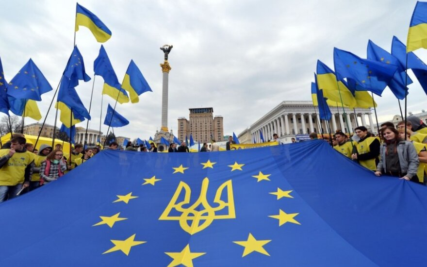 Siūlymas priimti Ukrainą į ES priimtas