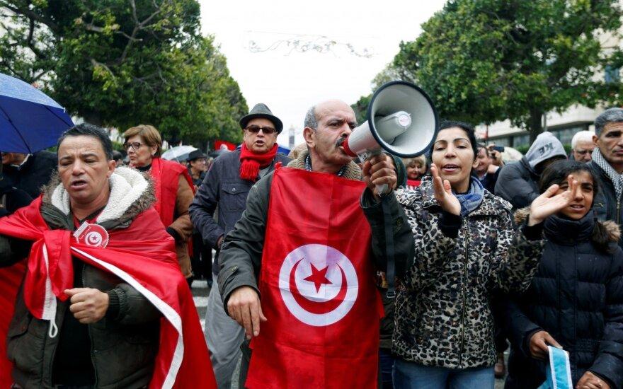 Protestas Tunise