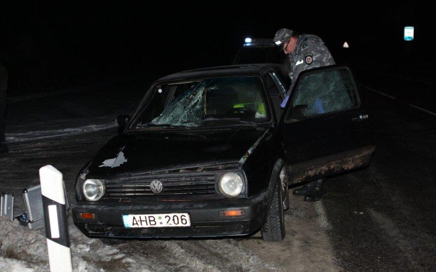 Vilniaus rajone moterį užmušęs vairuotojas pabėgo, bet įkliuvo grįždamas