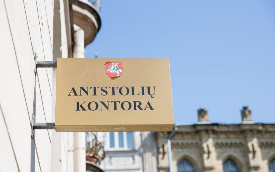 Antstolių ir notarų paslaugų kainos bus nustatomos kitaip