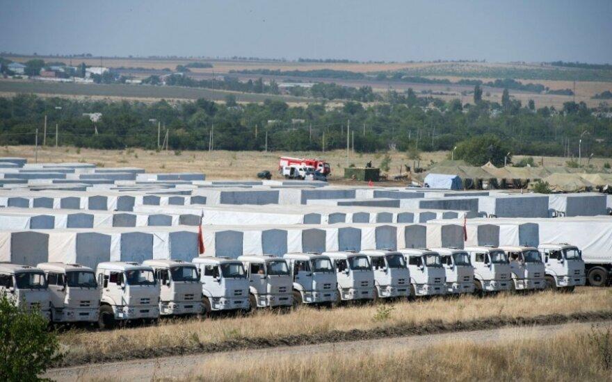 Rusijos humanitarinė pagalba: prasideda patikra