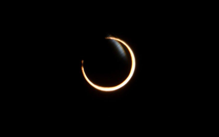 Pirmasis 2017 metų Saulės užtemimas