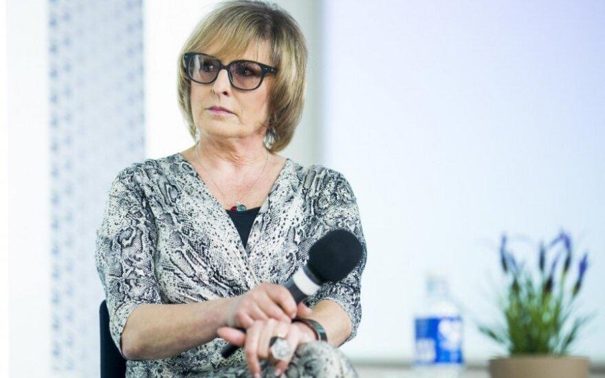 Susanna Kubelka ir Rūta Vanagaitė