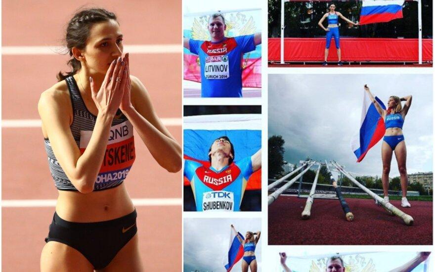 Marija Lasickienė, atletų komisija