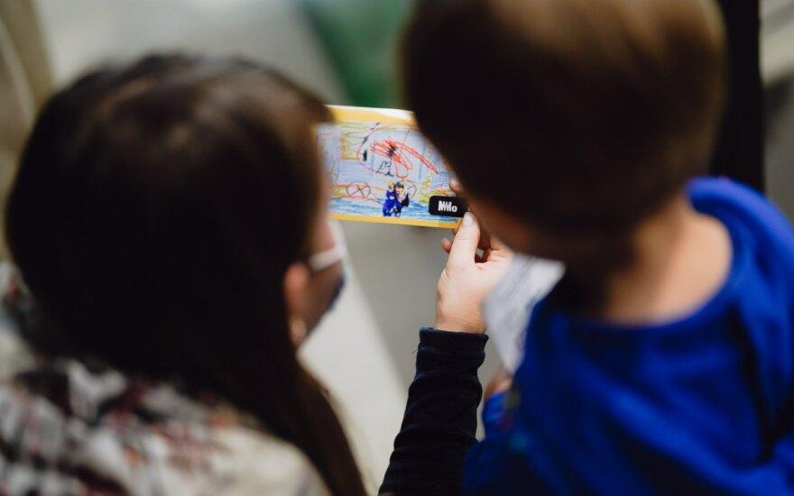 Dėmesys emocijoms MO muziejaus parodoje vaikams: ar leidžiame jas išgyventi?