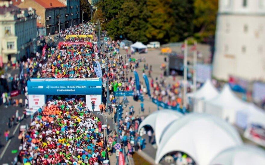 Bėgimo maratonas Vilniuje