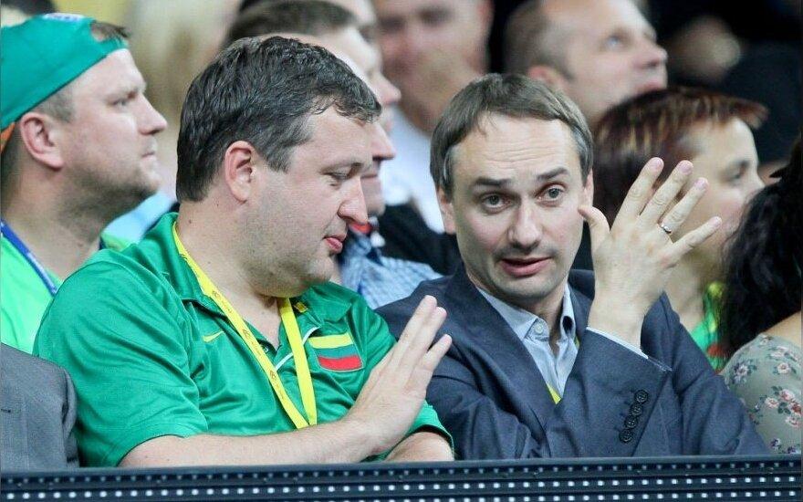 Vladas Garastas, Antanas Guoga ir Mindaugas Balčiūnas