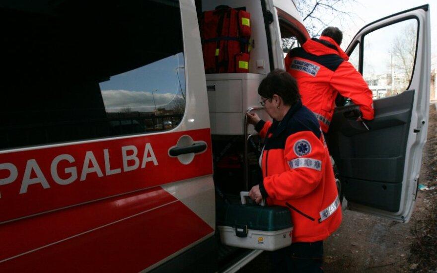 Nelaimė Vilniuje: partrenkta 8 metų mergaitė