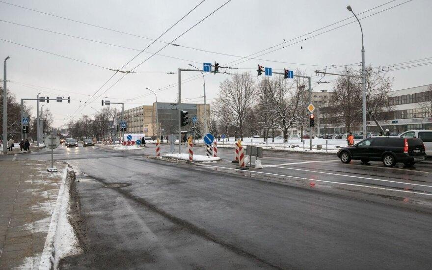 Nauji šviesoforai Vilniuje