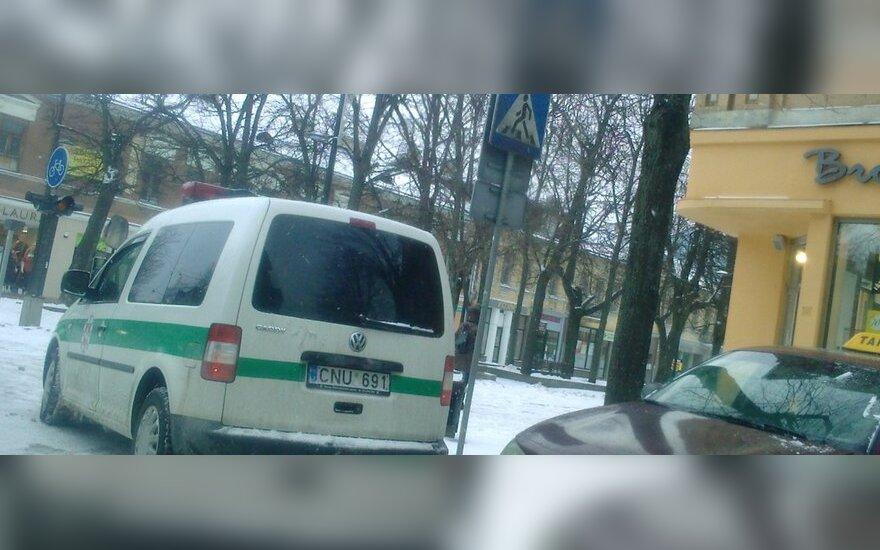 Kaune, Laisvės al. 2011-02-14, 14.15 val.