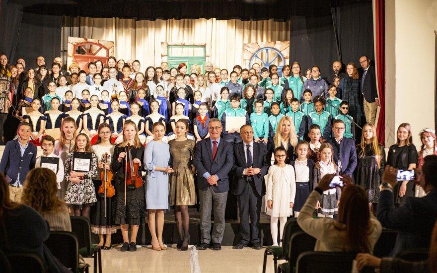Jaunųjų Lietuvos muzikantų koncerte dalyvavo Maltos švietimo ministras