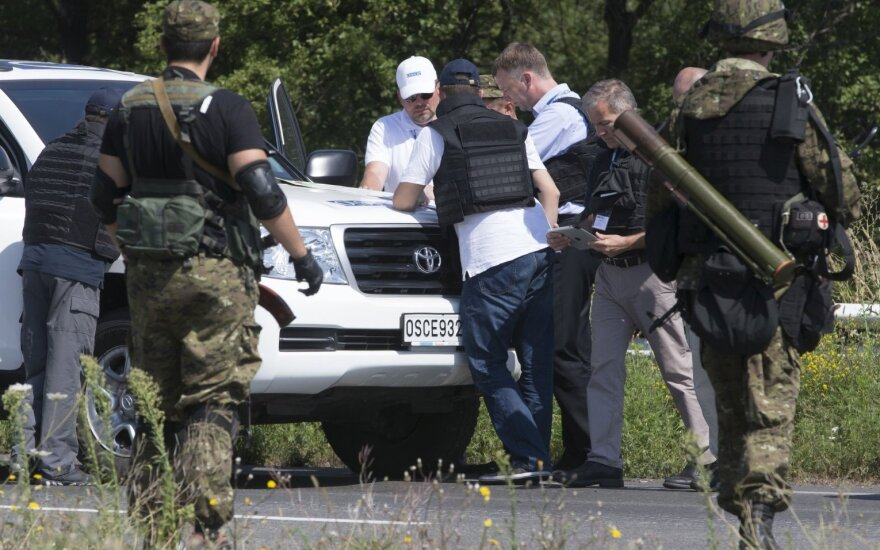 ESBO stebėtojai Ukrainoje