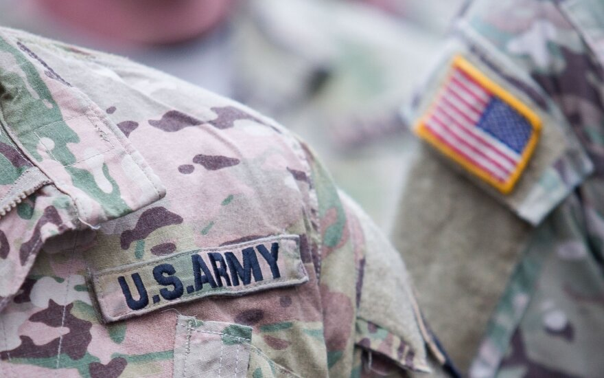 US soldiers