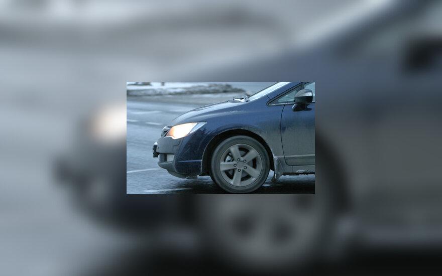 Automobilis, ratas, posūkis