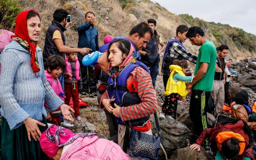 Vyksta į Graikiją aptarti pabėgėlių priėmimo