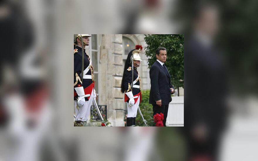 Nicolas Sarkozy inauguracija