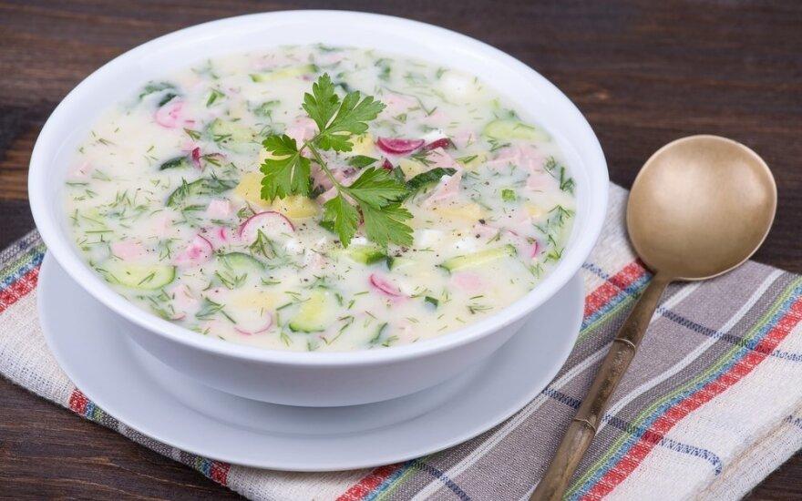 Penkios šaltos sriubos karštai vasaros dienai