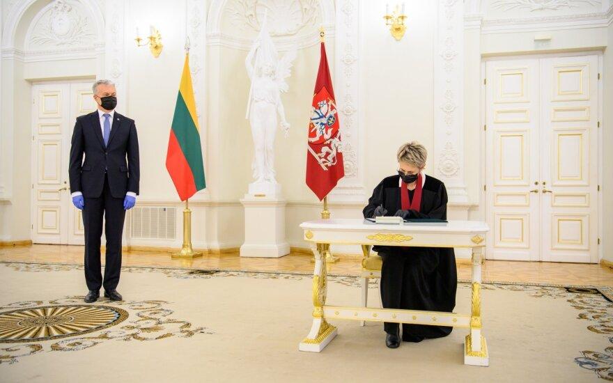 Gitanas Nausėda, Nida Grunskienė
