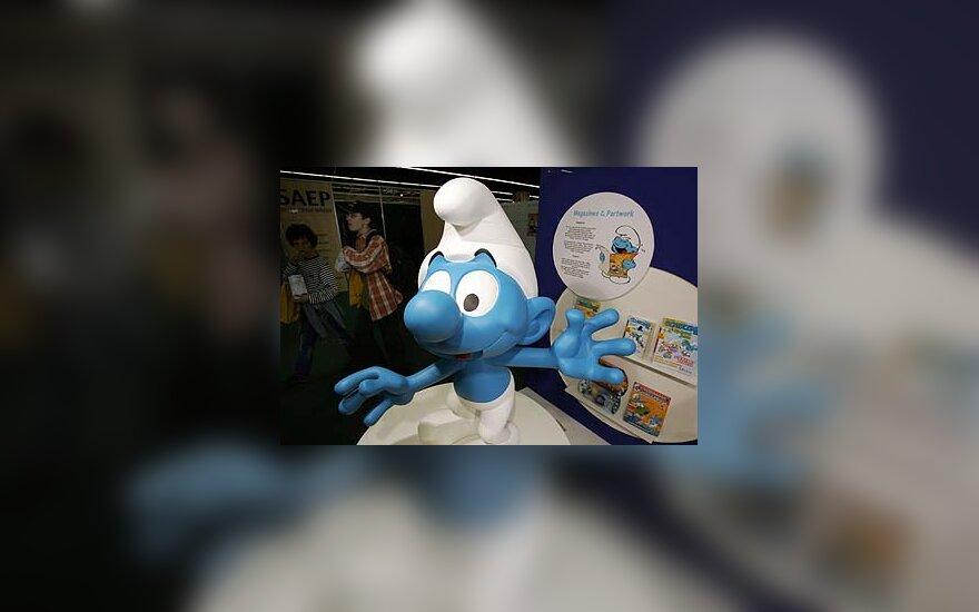 Belgų karikatūristo sukurtas herojus Smurfas