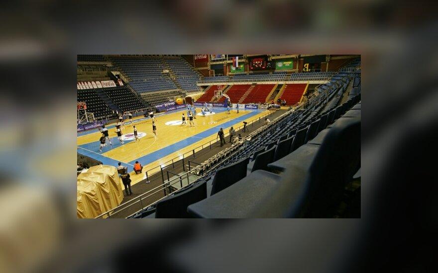 """Belgrado """"Pionir"""" arena - """"Crvena Zvezda"""" klubo namų salė"""