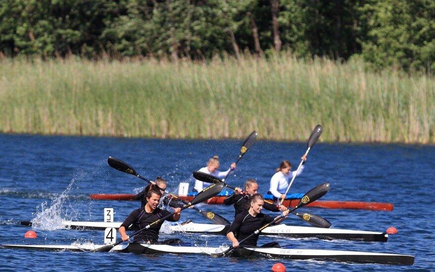 Baidarių ir kanojų sporto mėgėjus savaitgalį trauks varžybos Trakuose
