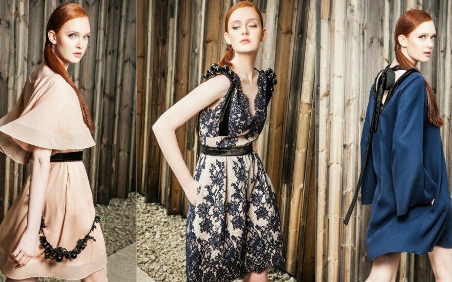 R. Piekautaitė pristatė jaunatviškai elegantišką proginių drabužių kolekciją