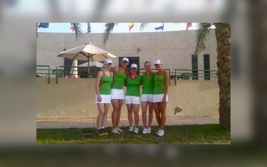 Lietuvos moterų teniso rinktinė