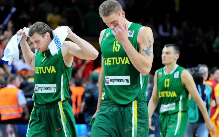 Lietuvos rinktinė pralaimėjo ketvirtfinalyje