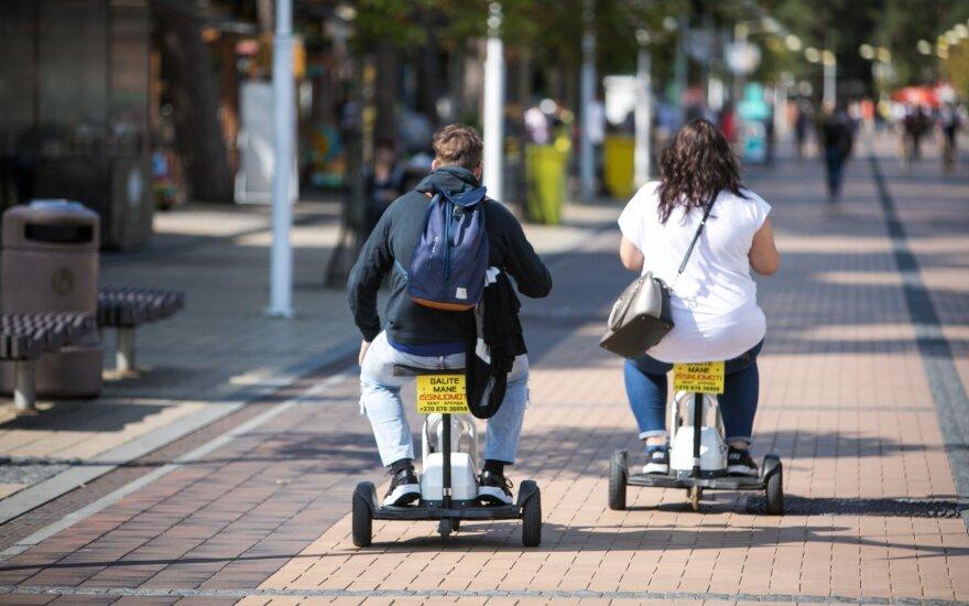 Skambina pavojaus varpais dėl situacijos Palangoje – neapsikentė chaoso dviračių takuose