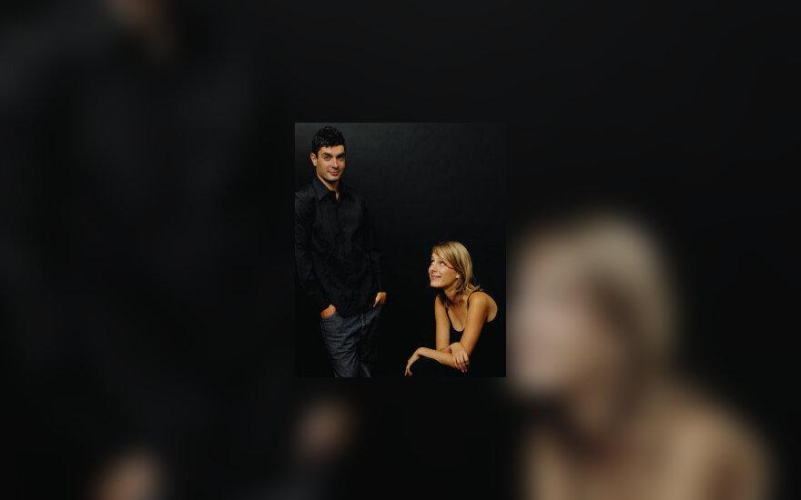 Vyras ir moteris, pora, dviese