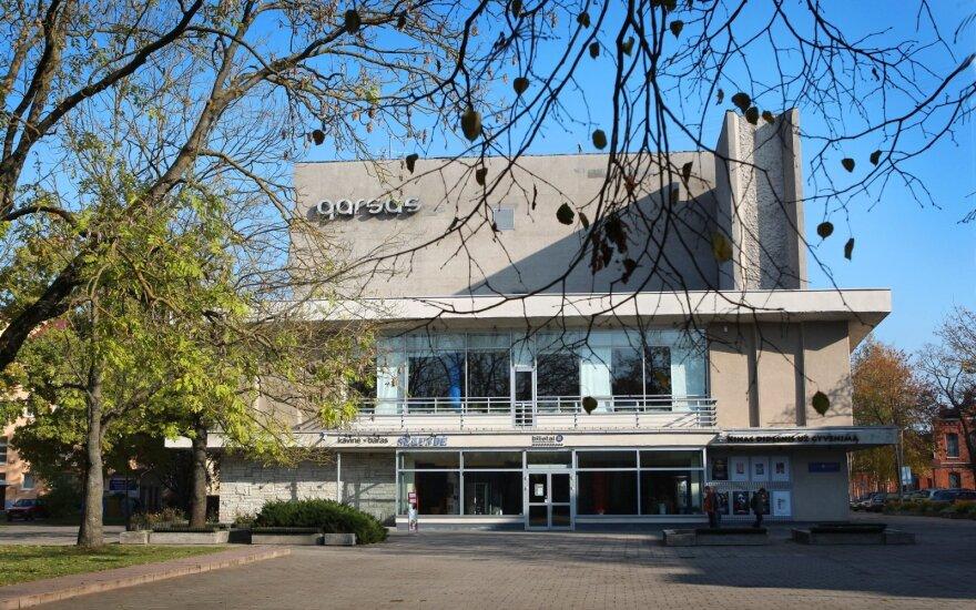 """Kino ir kultūros žmonės ragina išsaugoti kino teatrą """"Garsas"""": išplatino virtualų kreipimąsi"""
