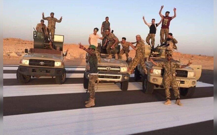 Nacionalinės susitarimo vyriausybės kariai Libijoje