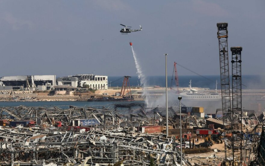 Beirutas po sprogimo