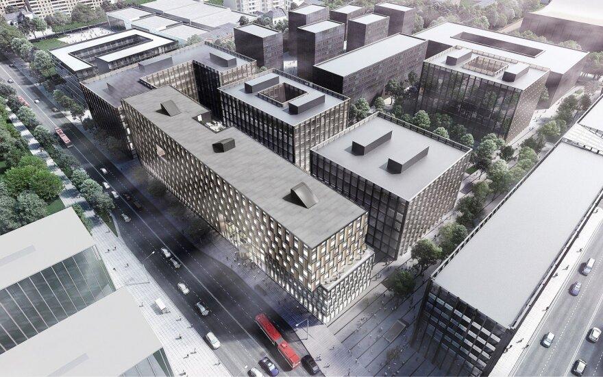 Business Stadium West / Hanner vizualizacija