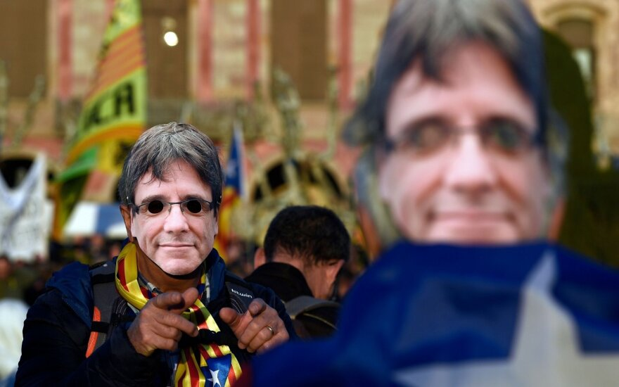 Vokietija ketina išduoti Puigdemont'ą