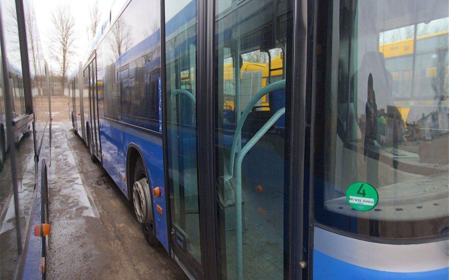 Rudenį į sostinės gatves išriedės 150 naujų autobusų