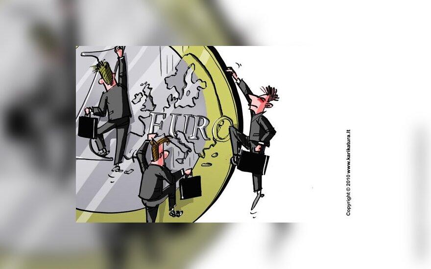 ES atsigauna, tačiau dar nekuriamos naujos darbo vietos