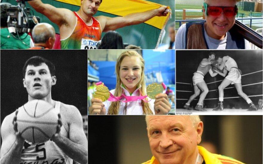 Pavyzdžiai, kurie įkvepia – garsiausios Lietuvos sporto legendos
