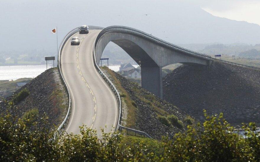 Atlanto vandenyno kelias Norvegijoje