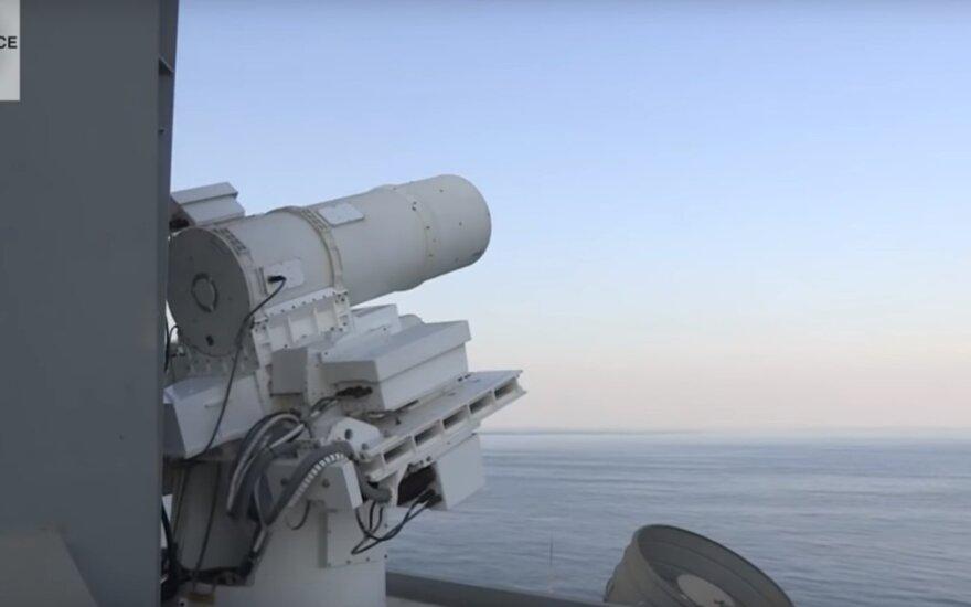 JAV ketina įsigyti galingiausią karinį lazerį pasaulyje – skaičiai ir galimybės pribloškia