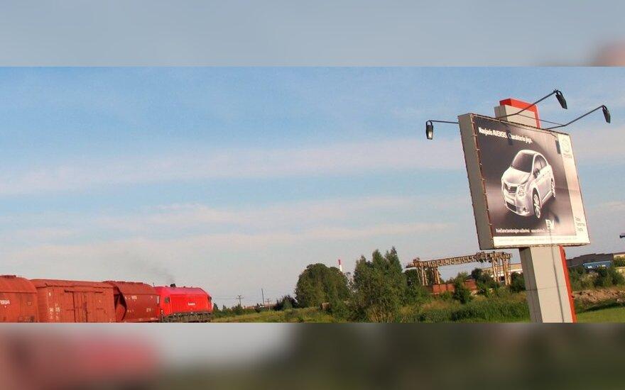 Reklama pakelėse. Lietuva